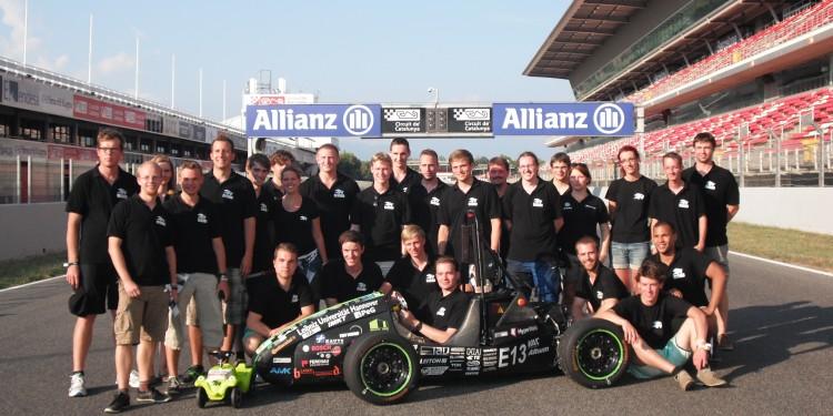 Formula Student. HorsePower Team unterstuetzt von Becker und Mueller Schaltungsdruck