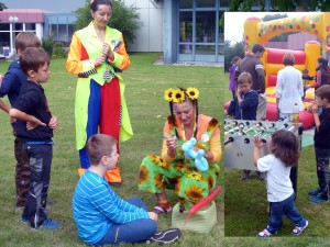 Programm und Spaß für Kinder am Etappen-Event der Ginkgo Tour
