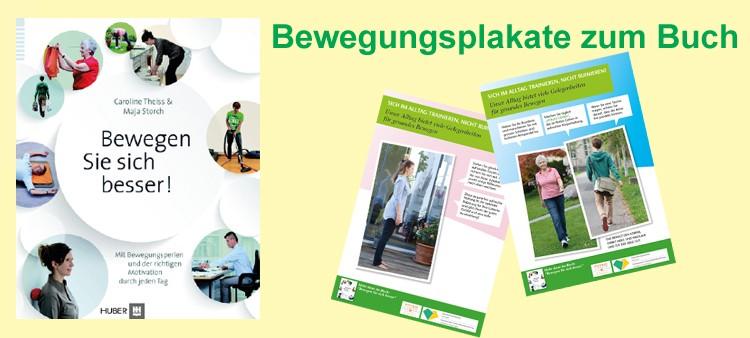 """Richtiges Bücken und bessere Körperhaltungen- Neue Bewegungsplakate zum Buch von Caroline Theiss Wolfsberger """"Bewegen Sie sich besser!"""" wurden im Landkreis Reutlingen vorgestellt"""