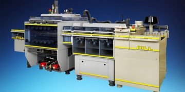 Vacuum-etching plant by PILL GmbH