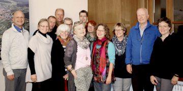 """Mitwirkende des Arbeitskreises """"Gesunde Gemeinde"""" planen die Aktivitäten für 2017."""